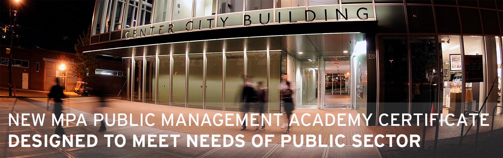 MPA academy certificate