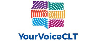 Your voice charlotte logo
